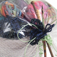 Gift basket for a knitter