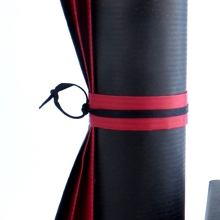 Black and red wraps