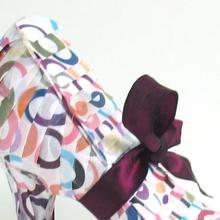 Shoe wrapped for VISA by Arona Khan