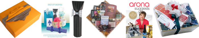Gift wrapping and hamper & gift basket DVDs Arona Khan
