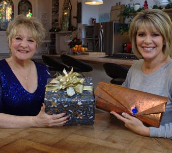 Arona with Ruth Langsford on Channel 5