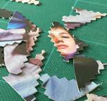 handmade jigsaw pieces