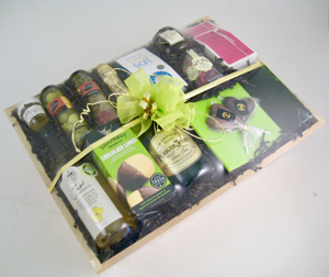 Shrink wrapped Celebration hamper