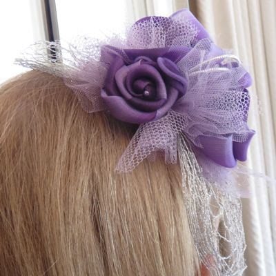 Fascinator for Linda, Mother of the groom